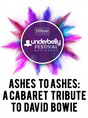 Ashes to Ashes: A Cabaret Tribute to David Bowie Poster