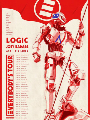 Logic with Joey Badass at Pier Six Concert Pavilion