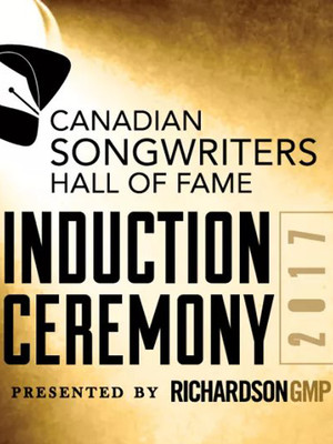 Canadian Songwriters Hall of Fame Induction Ceremony Poster