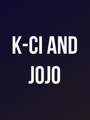K-Ci and JoJo at Fabulous Fox Theater