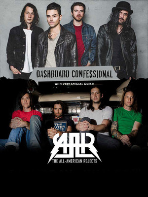 Dashboard Confessional and All American Rejects Poster