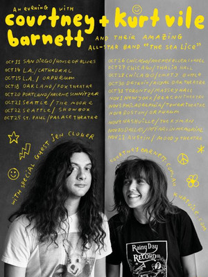 Courtney Barnett and Kurt Vile Poster