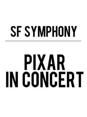 San Francisco Symphony - Pixar in Concert Poster