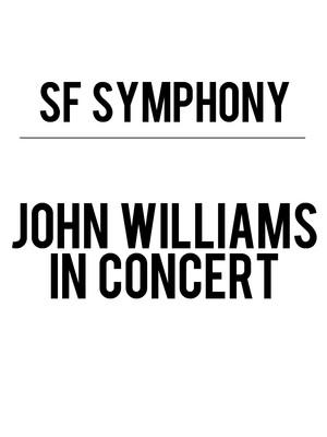 San Francisco Symphony The Music of John Williams, Davies Symphony Hall, San Francisco