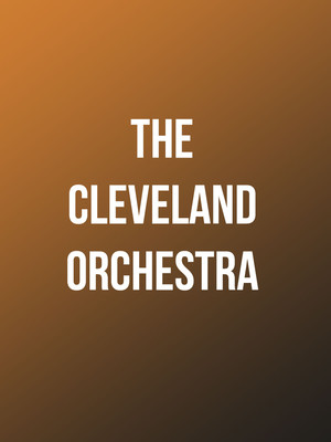 The Cleveland Orchestra, Isaac Stern Auditorium, New York