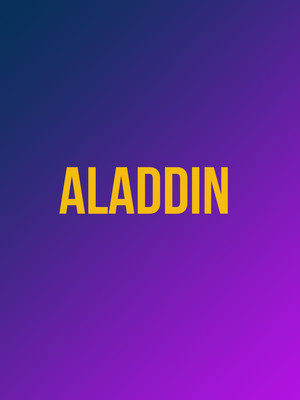 Aladdin at Broadway Theatre Of Pitman