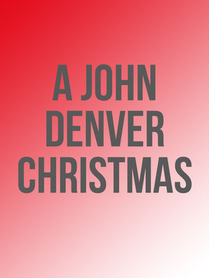A John Denver Christmas Poster