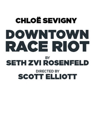 Downtown Race Riot Poster
