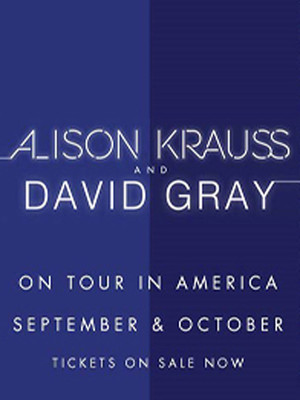 Alison Krauss and David Gray, Peabody Opera House, St. Louis
