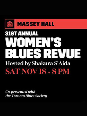 Women's Blues Revue Poster