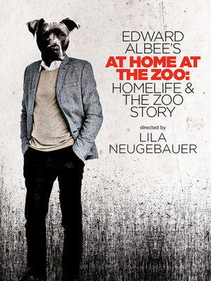 Edward Albee's At Home at the Zoo Poster