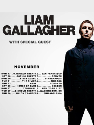 Liam Gallagher at House of Blues