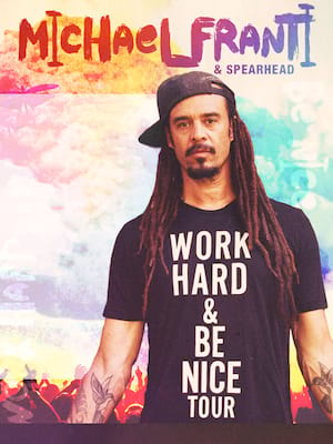 Michael Franti and Spearhead, Harrahs Reno Convention Center, Reno