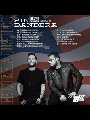 Sin Bandera at Comerica Theatre