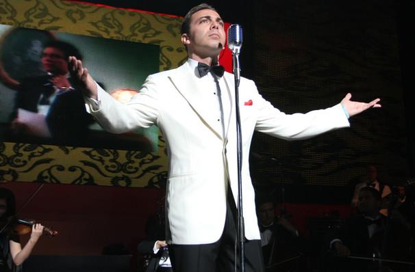 Cristian Castro, Plaza Theatre, El Paso
