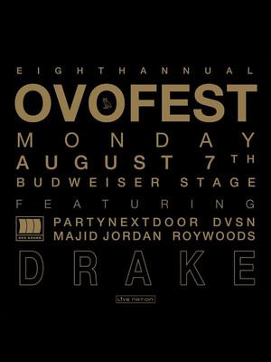 2017 OVO Fest: Drake, PartyNextDoor, Majid Jordan Poster