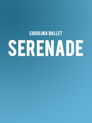 Carolina Ballet - Serenade at Raleigh Memorial Auditorium