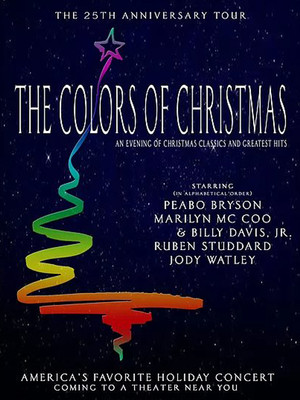 Colors of Christmas Poster
