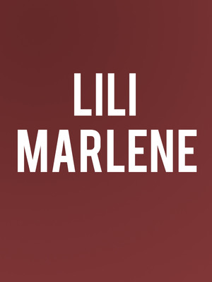 Lili Marlene Poster