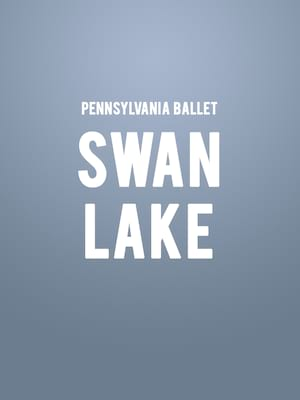 Pennsylvania Ballet Swan Lake, Academy of Music, Philadelphia