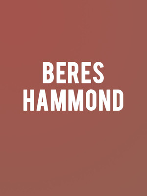 Beres Hammond at Prudential Hall