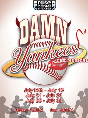 Damn Yankees, Rose Center Theater, Costa Mesa