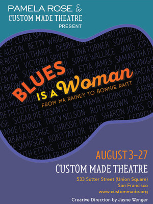 Blues is a Woman Poster