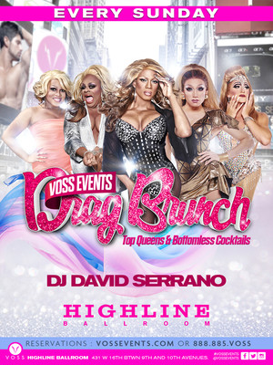 Drag Brunch Poster