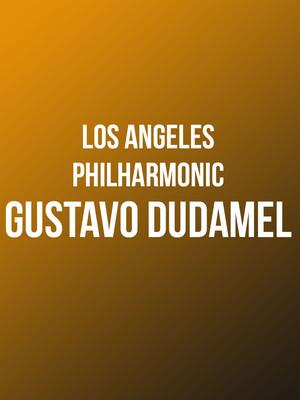 Los Angeles Philharmonic - Gustavo Dudamel Poster