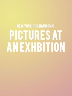 New York Philharmonic - Pictures at an Exhibition Poster