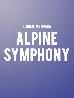 Columbus Symphony Orchestra - Alpine Symphony at Ohio Theater