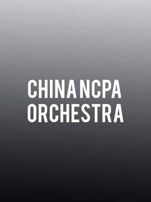 China NCPA Orchestra at Davies Symphony Hall