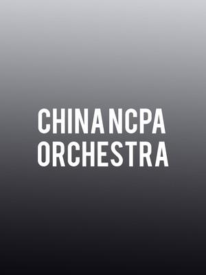 China NCPA Orchestra Poster