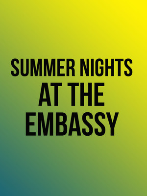 Summer Nights at the Embassy, Embassy Theatre, Fort Wayne
