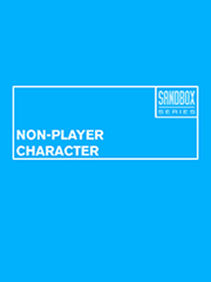 Non Player Character, San Francisco Playhouse, San Francisco