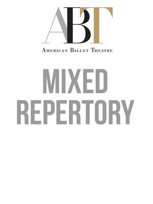 American Ballet Theatre - Mixed Repertory at David H Koch Theater