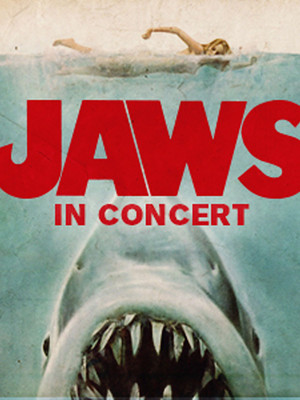 San Antonio Symphony - Jaws in Concert Poster