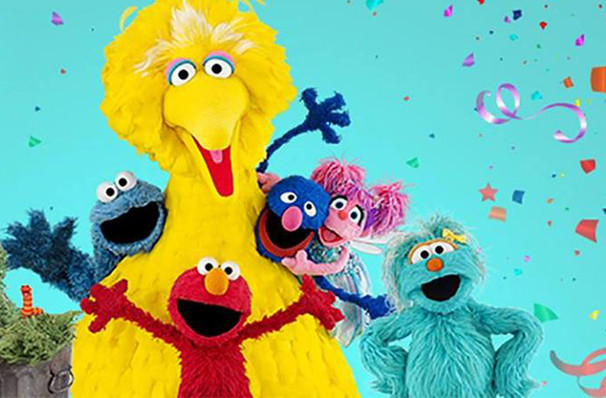 Sesame Street Live Lets Party, Crouse Hinds Theater, Syracuse