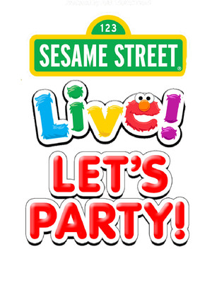 Sesame Street Live - Let's Party Poster