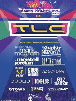 I Love the 90s feat. TLC at Toyota Pavilion