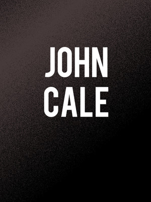 John Cale at BAM Gilman Opera House