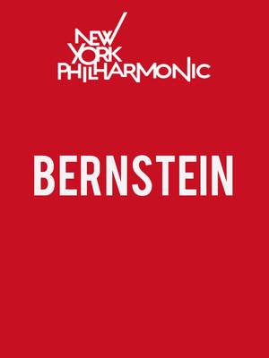 New York Philharmonic - Bernstein Poster