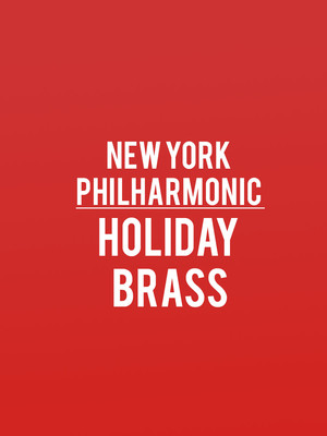 New York Philharmonic - Holiday Brass Poster