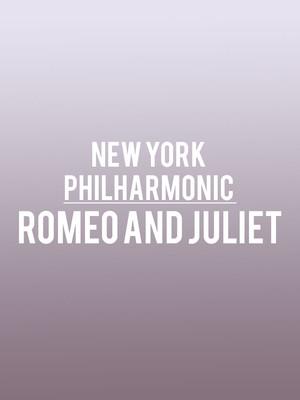 New York Philharmonic - Romeo and Juliet Poster