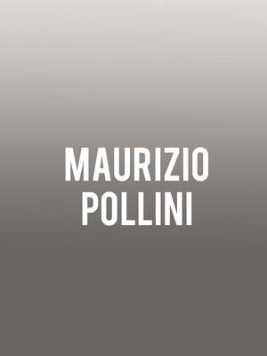 Maurizio Pollini at Symphony Center Orchestra Hall