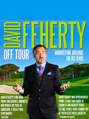 David Feherty at Stafford Centre