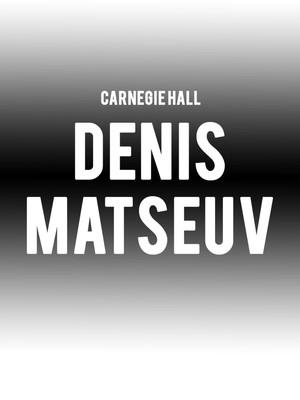 Denis Matseuv at Carnegie Music Hall