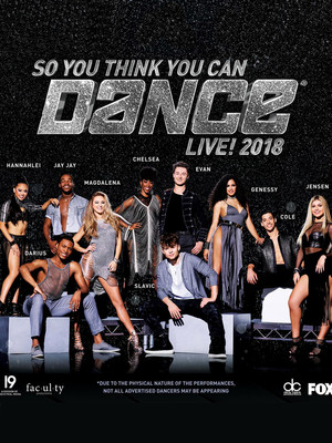 So You Think You Can Dance Live, Majestic Theatre, San Antonio