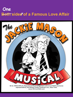 Both Sides of a Famous Love Affair: The Jackie Mason Musical Poster