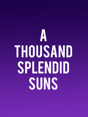 A Thousand Splendid Suns Poster